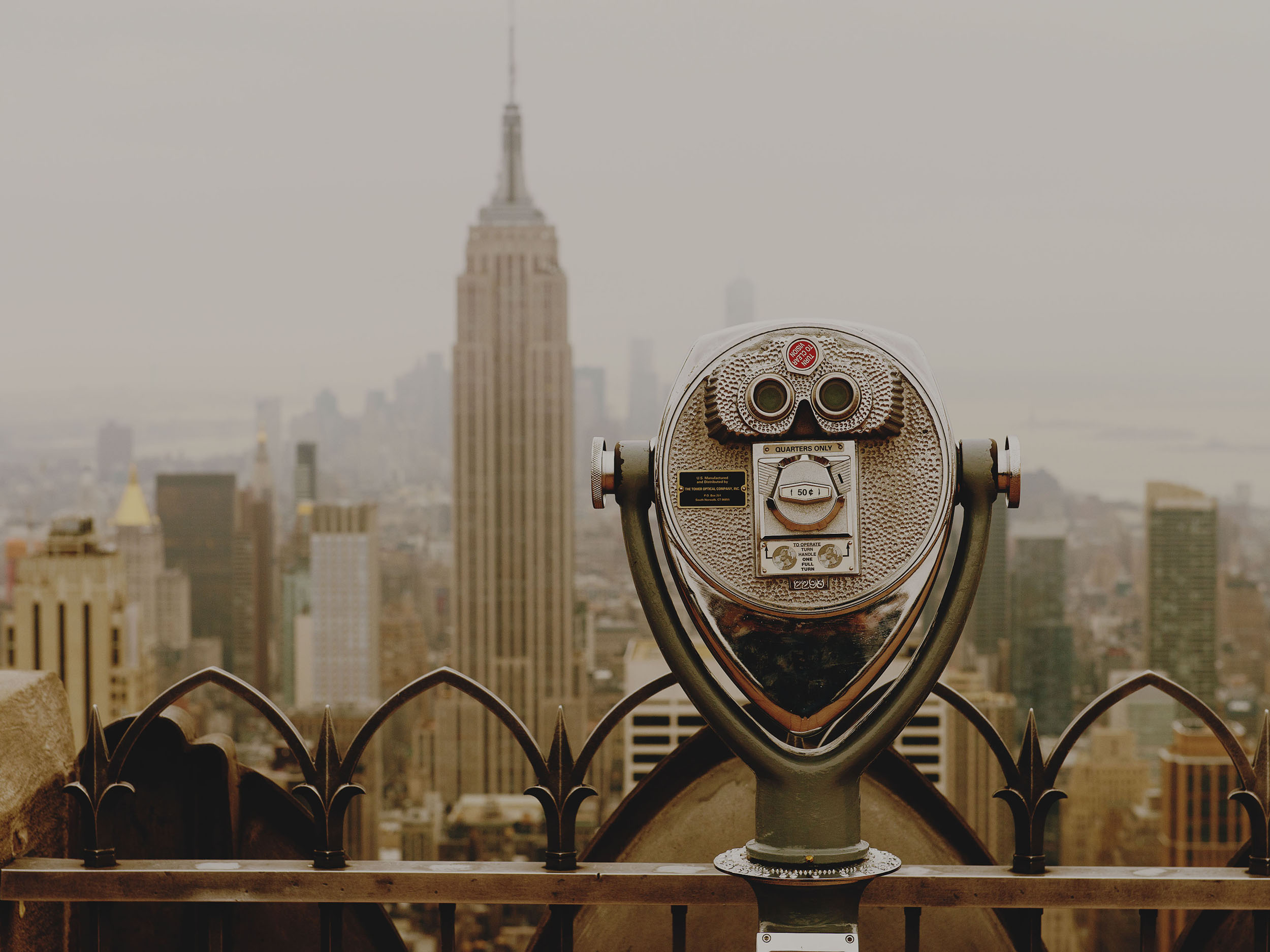 Top of the Rock New York by Ragnhild Utne