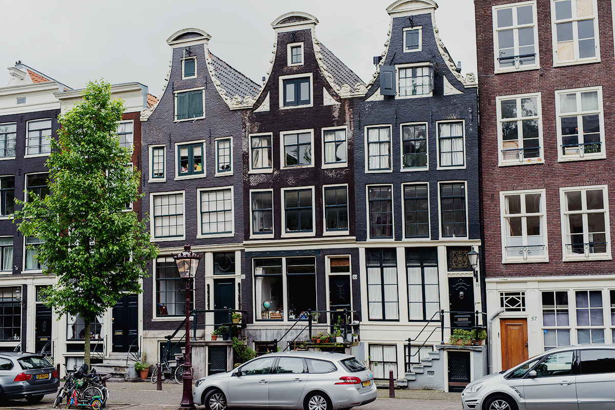 Interesting architecture in Amsterdam, Netherlands.