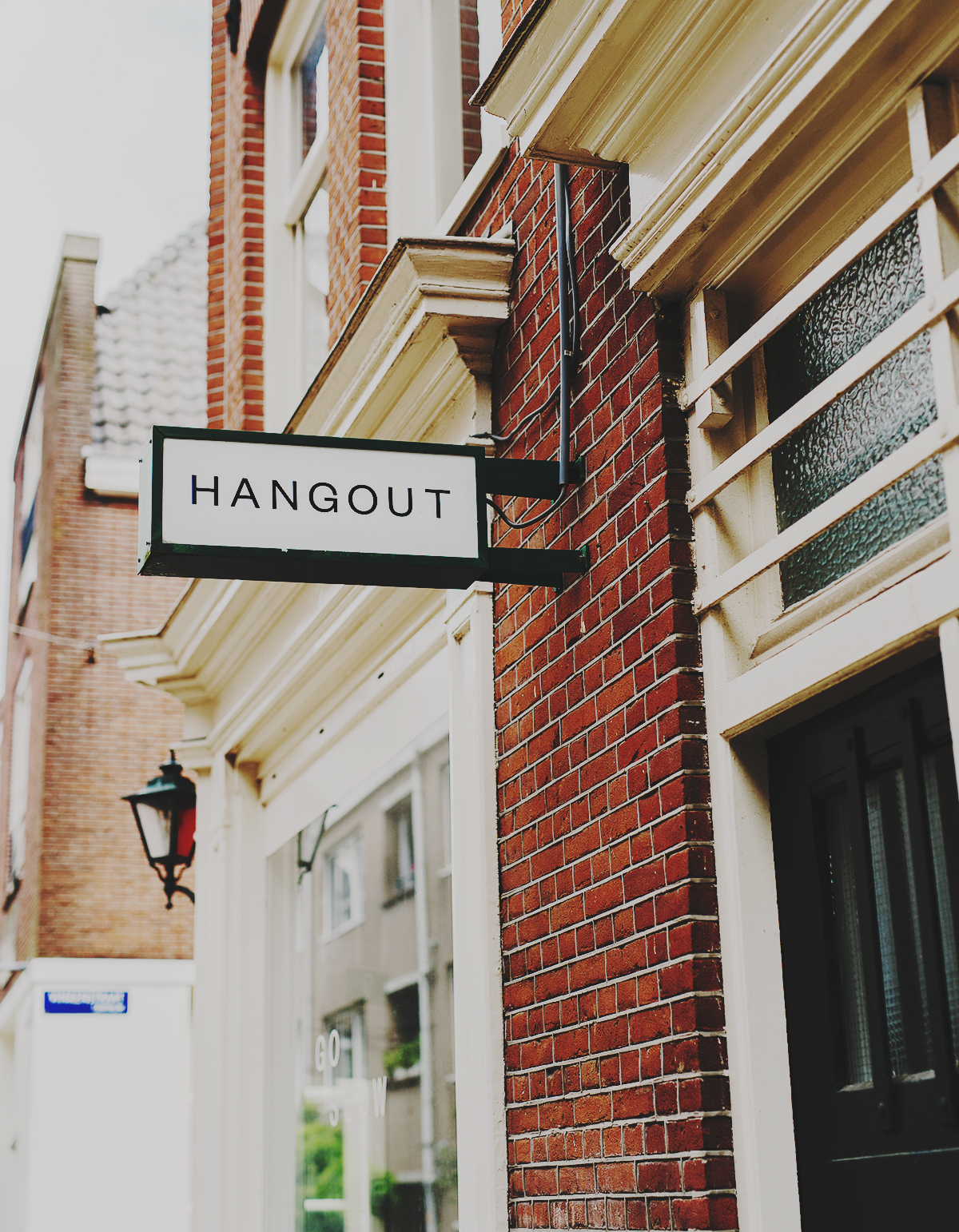 Hangout at TOKI café in Amsterdam, Netherlands.
