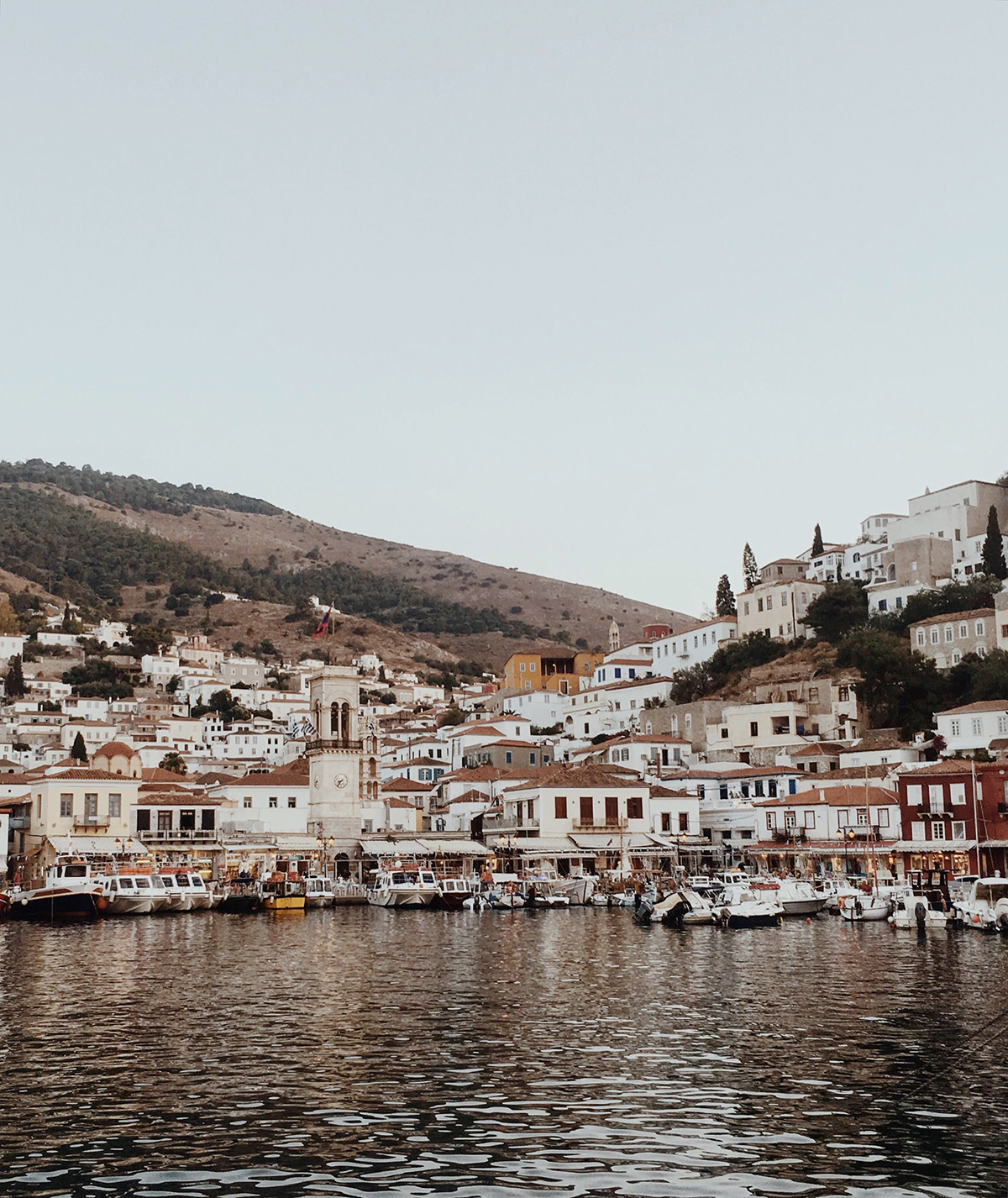 harbour of hydra, a greek island in the mediterranean sea. captured with my iPhone 6s, edited in vsco cam and instagram
