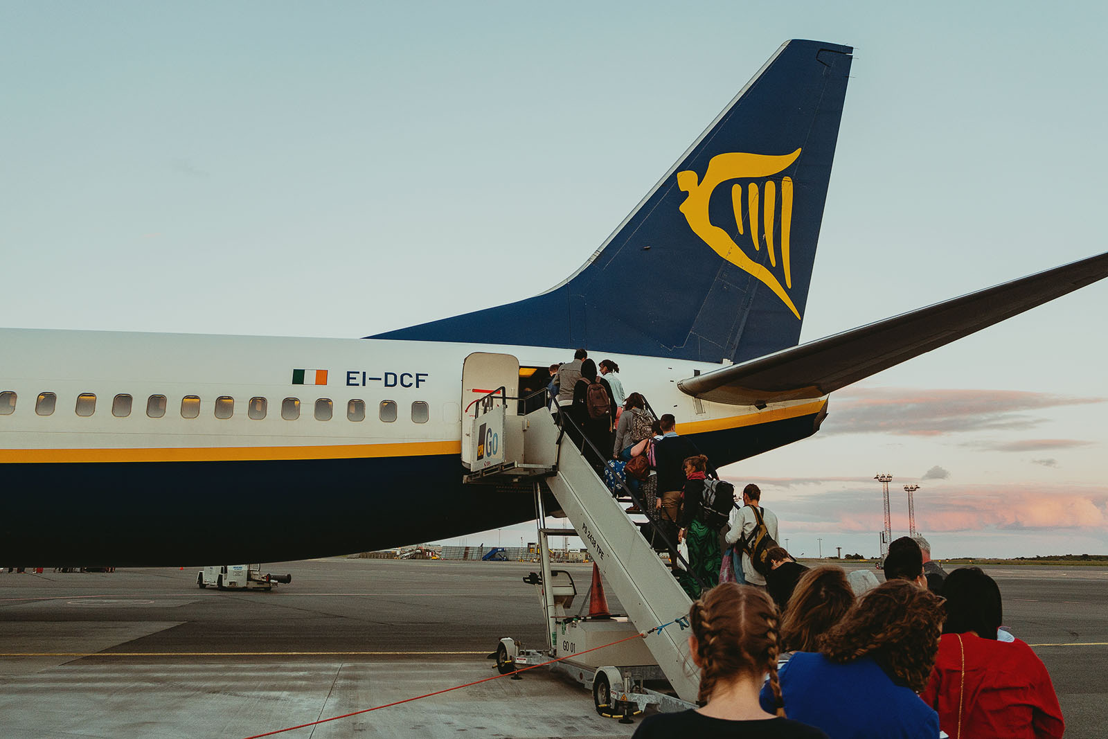 Ryanair, Copenhagen to London