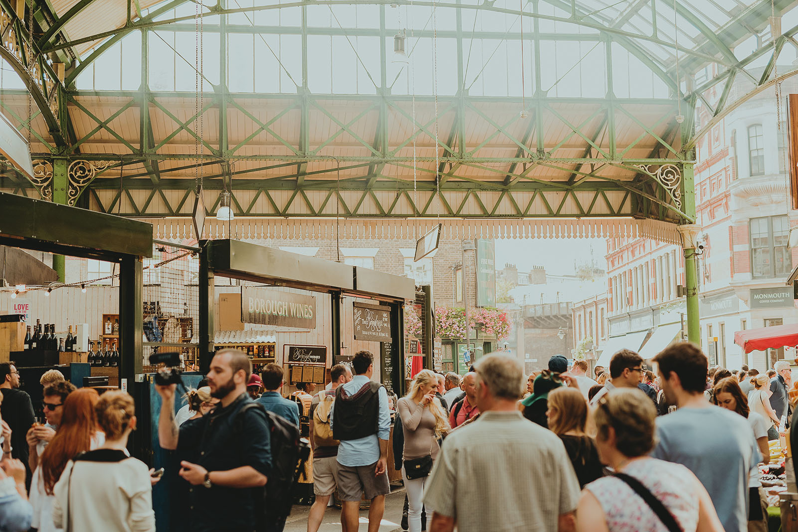 Borough Market, London Bridge, United Kingdom