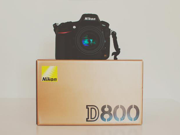 Nikon D800 new purchase