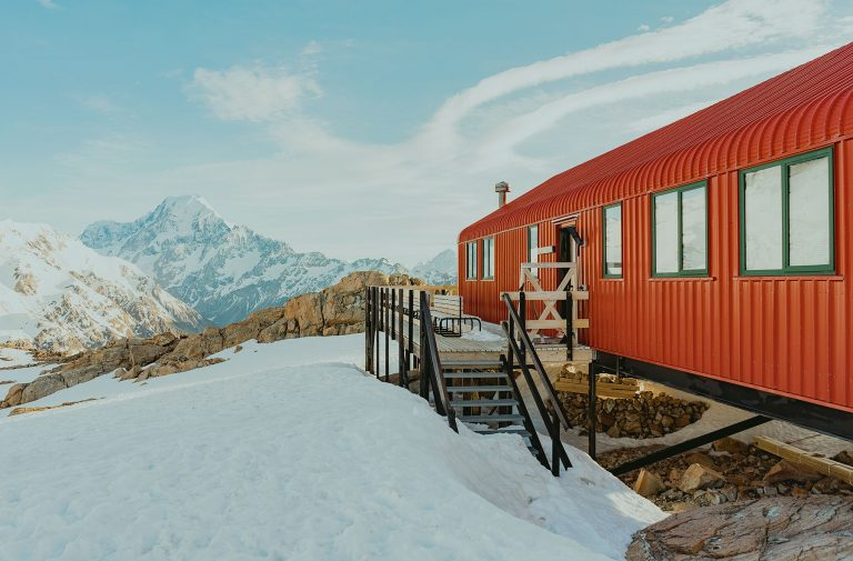 ragnhild Utne Aoraki/mount cook national park new zealand mueller hut